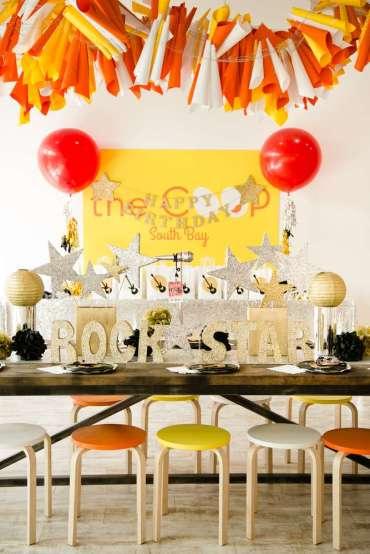 Rockstar Theme Birthday Party Decoration