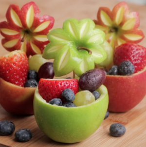 How to Make a Fruit Bowl from Fruits in 1 Minute