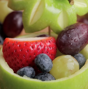 How to Make a Fruit Bowl from Fruits in 1 Minute_1