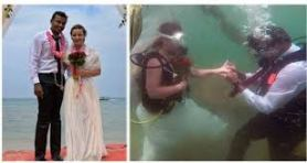 Breaking The Stereotypes, India's First Underwater Wedding 1