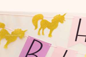 Unicorn Theme Birthday Party Decor 6
