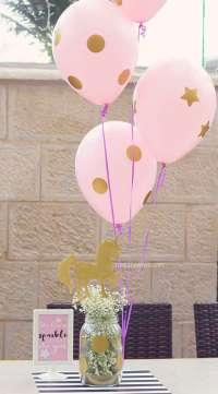 Unicorn Theme Birthday Party Table Decoration
