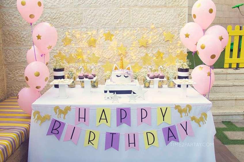 Unicorn Theme Birthday Party Venuemonk Blog