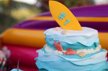 Beach Theme First Birthday Party