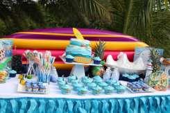 Beach Theme Birthday Party Decoration 5