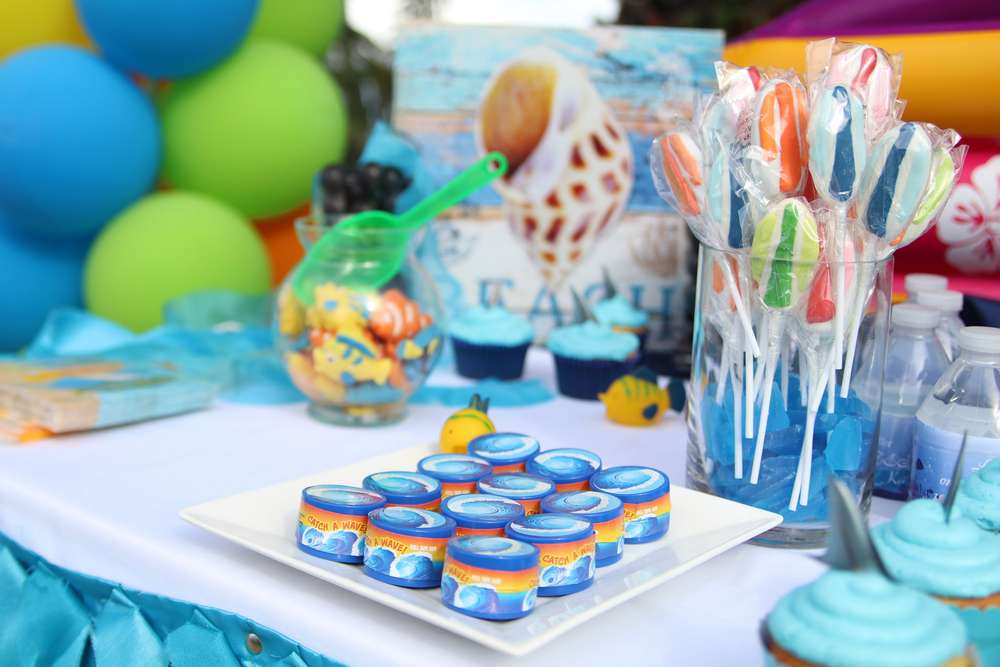 beach theme birthday party decoration venuemonk blog