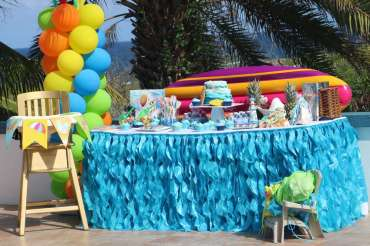 Beach Theme Birthday Party Venue 3
