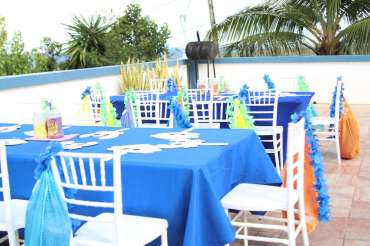 Beach Theme Birthday Party Venue