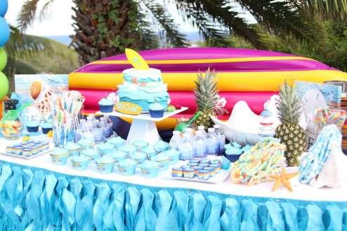 Beach Theme Birthday Party