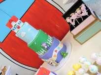Cartoon Theme Birthday Party Cake 2