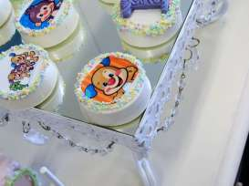 Cartoon Theme Birthday Party Cakes