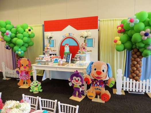 Cartoon Theme Birthday Party Decoration 8