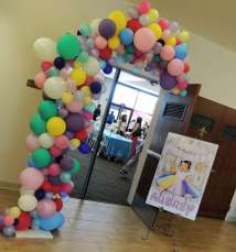 Cartoon Theme Birthday Party Entrance