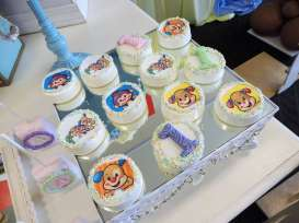 Cartoon Theme Birthday Party Mini Cakes