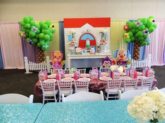Cartoon Theme Birthday Party Venue 3