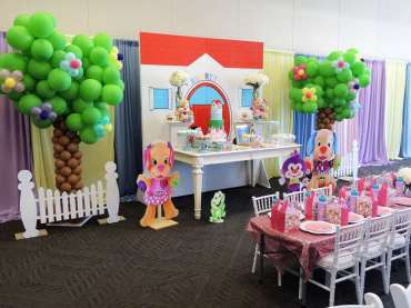 Cartoon Theme Birthday Party Venue