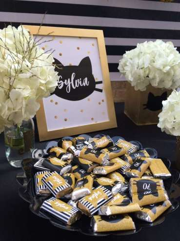 Cat Theme Birthday Party Food 3