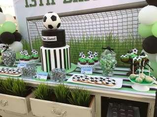 Football Theme Birthday Party Decor