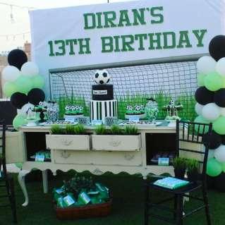 Football Theme Birthday Party Decoration 2