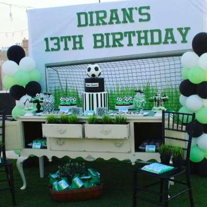 Football Theme Birthday Party Decoration 2