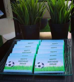 Football Theme Birthday Party Gifts
