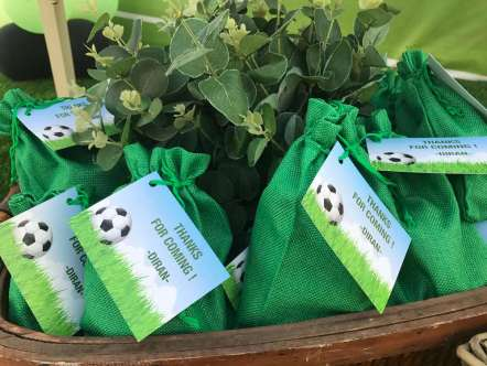Football Theme Birthday Party Return Gifts