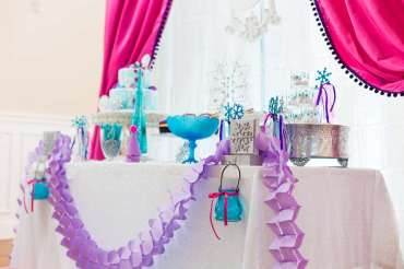 Frozen Theme Birthday Party Decoration 2