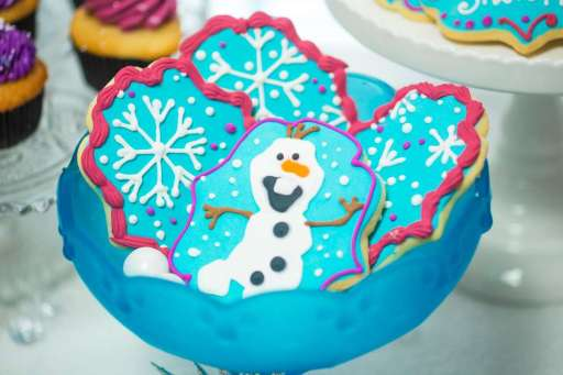 Frozen Theme Birthday Party Food 3