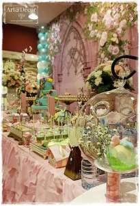 Garden Theme First Birthday Party Decoration 6