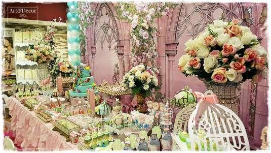 Garden Theme First Birthday Party Decoration 8