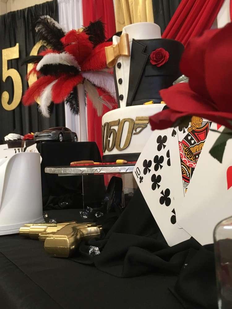 James Bond Theme Birthday Party Decoration 3 Venuemonk Blog