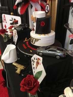 James Bond Theme Birthday Party Decoration 5
