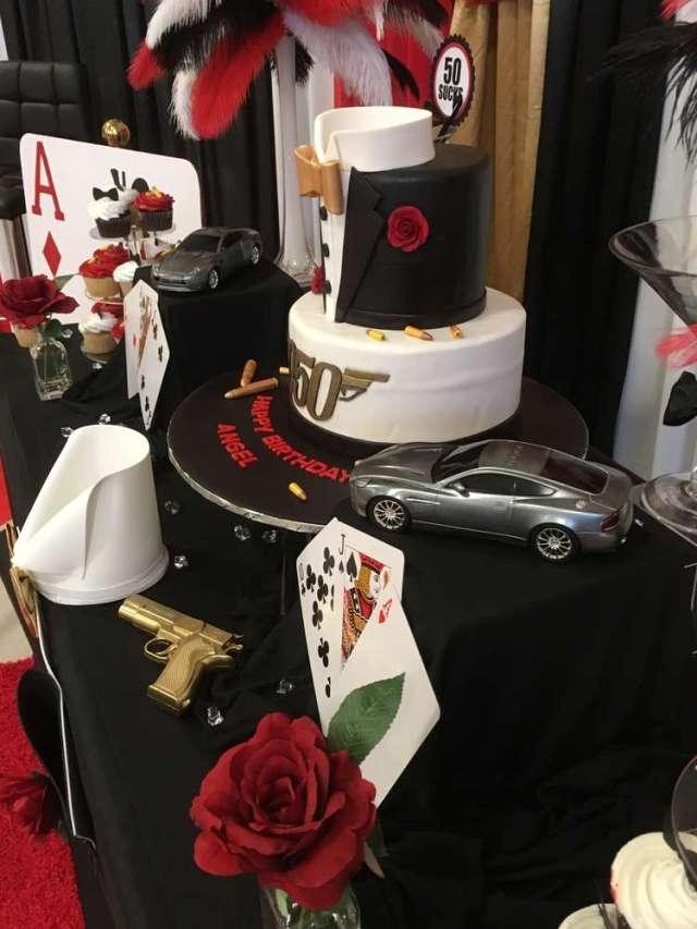 James Bond Theme Birthday Party Decoration 5 Venuemonk Blog