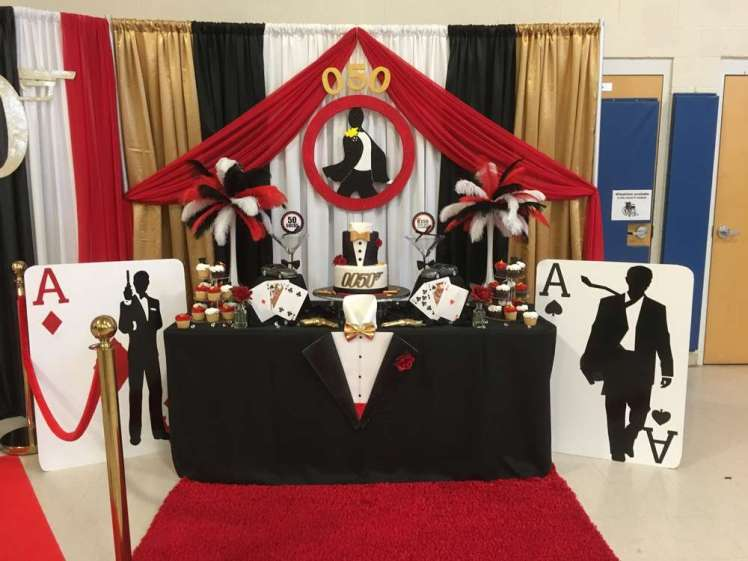 James Bond Theme Birthday Party