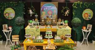 Jungle Theme Birthday Party Decoration 4