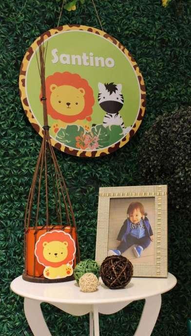 Jungle Theme Birthday Party Decoration 5