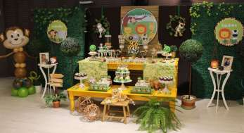 Jungle Theme Birthday Party Decoration 6