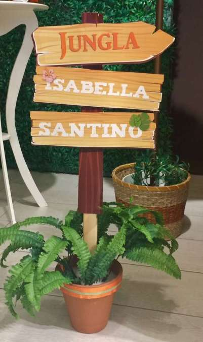 Jungle Theme Birthday Party Decoration 8