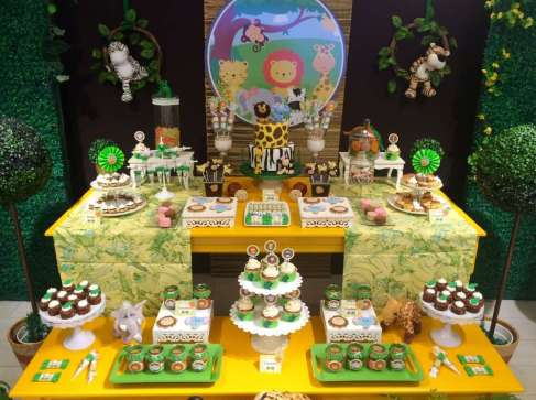 Jungle Theme Birthday Party Decoration