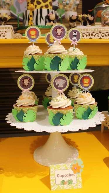Jungle Theme Birthday Party Food