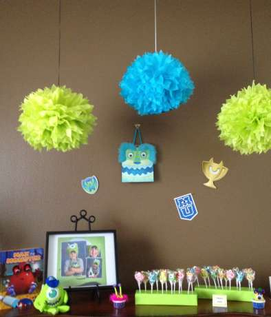 Monster Theme Birthday Party Decoration 2