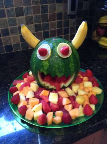 Monster Theme Birthday Party Food 4