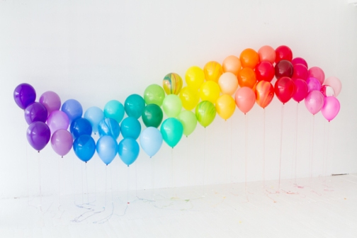 Rainbow Theme Birthday Party 2