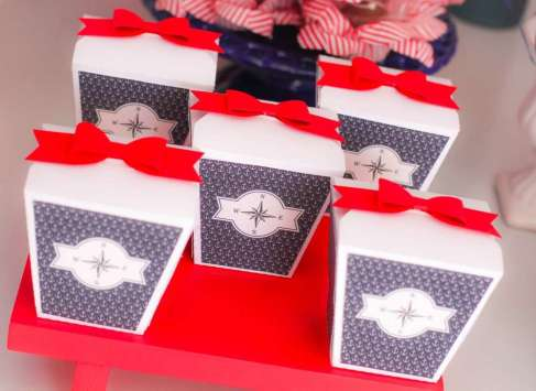 Sailor Theme Birthday Party 10