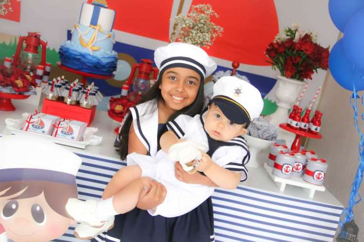 Sailor Theme Birthday Party Birthday Boy