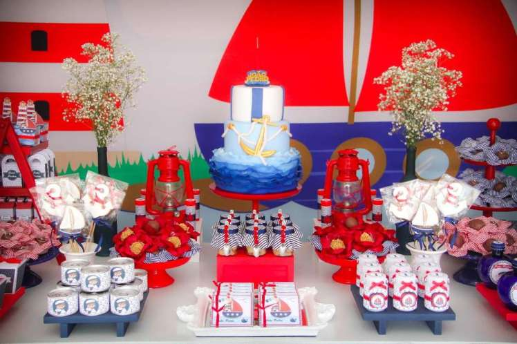 Sailor Theme Birthday Party Decoration