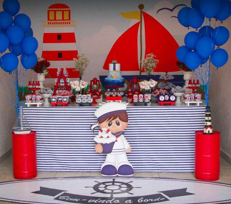 Sailor Theme Birthday Party