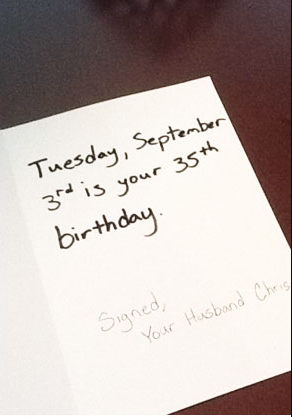 Ordinary Birthday Card