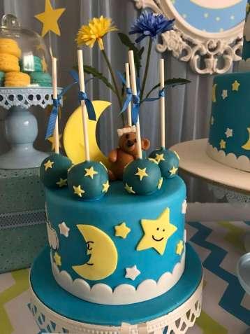 Twinkle Twinkle Little Star Party Cake 2