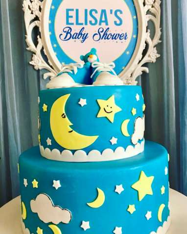Twinkle Twinkle Little Star Party Cake